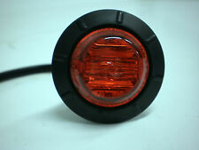 """Maxxima M09400R Red 6 LED 1-1/4"""" Marker Clearance Light"""