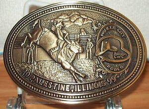AWARD DESIGN MEDALS PIONEER CITY RODEO 1999 BULL RIDER