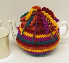 CROCHET PATTERN (instruction leaflet) to make a TEA COSY - Ref.14T