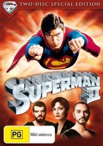 Superman 2 - Christopher Reeve - 2 Disc Set - New & Sealed Region 4 DVD