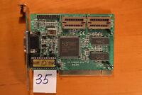 Sale Vintage PCI Video Card S3 Trio64TM EON2AA BIOS Arist HM514260AJ8 1MB TESTED