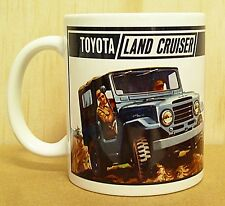 300ml COFFEE MUG, TOYOTA LAND CRUISER FJ40, BLUE