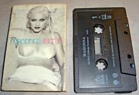 MADONNA Secret+non-LP Instrumental CASSINGLE cassette tape 1994 USA single EX/VG