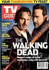 TV GUIDE - THE WALKING DEAD - ANDREW LINCOLN - JEFFREY DEAN MORGAN -DOLLY PARTON