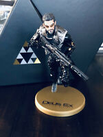 "Deus Ex Mankind Divided Collector's Edition 9"" Adam Jensen Statue Figure NEW"