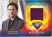 Cryptozoic Supergirl Costume Wardrobe Relic Card Peter Facinelli Max Lord M29