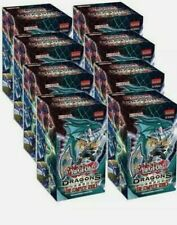 YuGiOh TCG Dragons of Legends Complete Series Full Display NEW SEALED *LIVE*