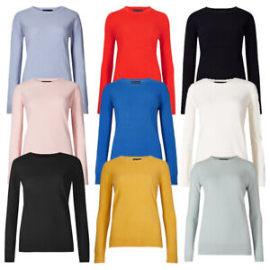 Marks & Spencer Womens Crew Neck Jumper New Soft Comfy M&S Sweater Pullover Top