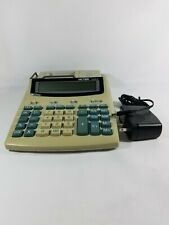 Used Victor 1212-2 Desk Calculator 12 digit, Lg. LCD, Bat or AC