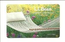 L L Bean Gift Card No $ Value Collectible Hammock Wildflowers