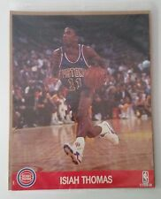 """Isiah Thomas Photo - 8.5"""" x 10"""" - Detroit Pistons - Picture Poster NBA Hoops"""