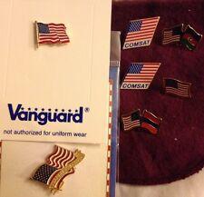 USA PATRIOTIC PIN LOT LAPEL PINS TIE TACS LOT OF 7 Pieces