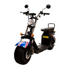 E-SCOOTER HARLEY-2000 1550W 20Ah 45km/h 60km Straßenz. COC EEC Citycoco E-Bike