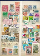 Taiwan - China  - collection on two pages. - many stamps