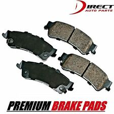 BRAKE PADS Complete Set Rear Disc Brake Pad - Semi-Metallic Pad, Rear