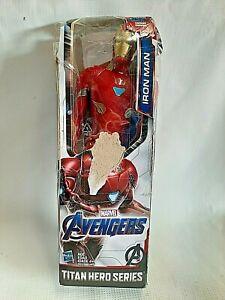 "Marvel Avengers: Endgame Iron Man Titan Hero Series 12"" Action Figure"