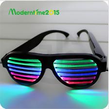 Sound Control LED Flashing Glasses Party Bar Fashion Sunglasses Eyewear