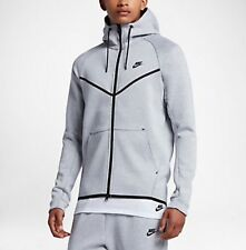 Nike Tech Pack Fleece Windrunner Full Zip Hoodie S,  805144-100 White Heather