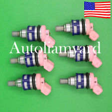 *Lifetime*89-92 NISSAN MAXIMA 3.0L SOHC Vin H VG30E FUEL INJECTORS no china