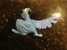2011 Blu Blue Macaw Bird #1 McDonald's Action Figure Toy Rio cake topper