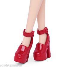 Barbie Doll Shoes Fashionistas & Model Muse Red Platform Ankle Strap Sandals