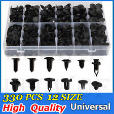 330pcs Clips Push Pins Retainers Assortment Automotive For Toyota Honda GM Ford
