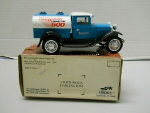 Racing Champions Transouth Financial 500 Darlington Model A Tanker Diecast Bank