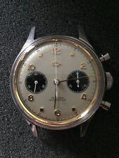 Seagull 1963 38mm Panda Chronograph Handwind Watch 2 Register subdial