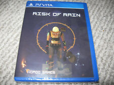 NEW Limited Run Games RISK OF RAIN Playstation Vita PSVita