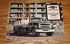 Original 1966 Chevrolet Trucks Gasoline & Diesel Chassis-Cabs Stakes 66 Chevy