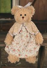 """SETTLER BEARS INVERELL COLLECTION FIONA 15"""" PLUSH TEDDY BEAR - BNWT"""