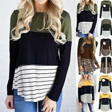 Women Maternity Pregnancy Autumn Long Sleeve Nursing Tops T-shirt Breastfeeding