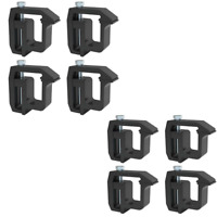 Mounting Clamps for Pickup Topper Clamps Truck Cap Clamps 8 piece TL2002
