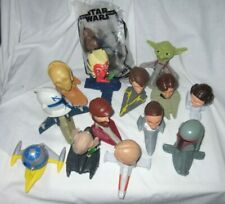 2008 McDonalds Star Wars Clone Wars - 14  Bobblehead Figures