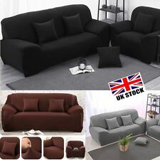 Sofa Slipcover Stretch Protector Soft Couch Cover Washable Easy Fit 1/2/3 Seater