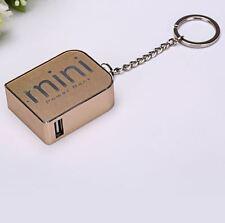 batterie externe mini power bank 1800 mAh porte clé - smartphone, iphone via USB
