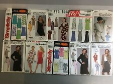 New ListingLot of 10 Vintage Simplicity Sewing Patterns