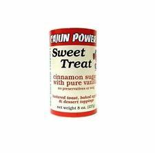 Cajun Power sweet treat cinnamon sugar W/ pure vanilla 8 ounce seasonings