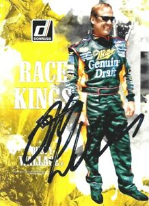 RUSTY WALLACE -  Autographed [c20]  2019 Donruss  Card #13