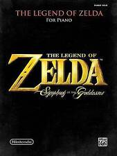 NEW The Legend of Zelda Symphony of the Goddesses: Piano Solos