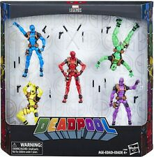 Marvel Legends Deadpool's Rainbow Squad 5-Pack 3.75 Inch
