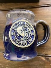 New listing Death Wish Coffee Co 2021 Space Oddity Resurrected Relic Deneen Handmade Mug New