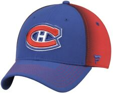 Montreal Canadiens Fanatics Blue Red Adjustable Hat (NEW)
