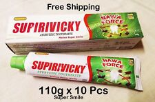 110g x 10 Supirivicky Supiriviki Ayurvedac Toothpaste Macht Super Lächeln Origin