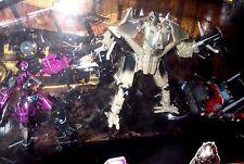 Transformers MOVIE hftd rotd rid XCLSV arcee battle damage optimus starscream
