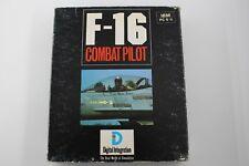 PC IBM 5 1/4 5,25 SYSTEM 4 F-16 COMBAT PILOT VERSION ESPAÑOLA