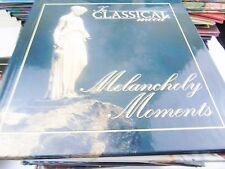 IN CLASSICAL MOOD MELANCHOLY MOMENTS CD & BOOKLET BOOK VGC BEETHOVEN GRIEG
