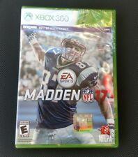 EA Madden NFL 17 XBOX 360 NEW & SEALED
