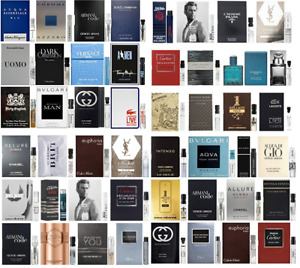 Men Perfume Samples Fragrance Designer CHOOSE YOUR OWN! Combined Shipping