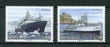 Monaco 2017 MNH The Calypso & Yersin 2v Set Boats Ships Nautical Stamps